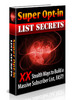 Thumbnail Super Opt-In List Secrets-Build A Massive Subscriber List