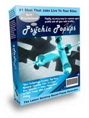 Product picture Profit Pulling  Unblockable Psychic Popup