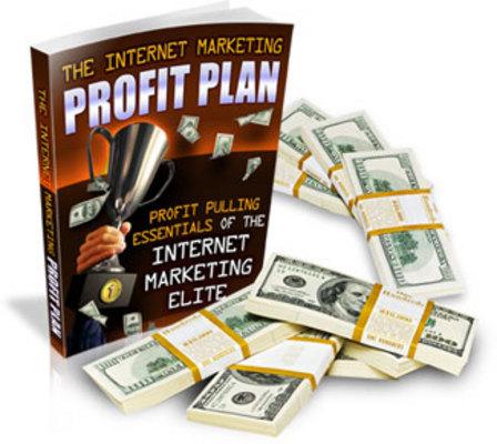 Product picture Internet Marketing Profit Plan - Millionaire Mindset